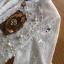 ชุดเดรสเกาหลีพร้อมส่ง เดรสผ้าลูกไม้สีขาวปักมุกตกแต่งระบาย thumbnail 10