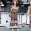 เสื้อผ้าเกาหลีพร้อมส่ง Chic DSAZ Vanhalen Browny Color Set thumbnail 5