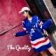 เสื้อผ้าเกาหลีพร้อมส่ง มินิเดรสไหมพรม Knitting good quality thumbnail 2