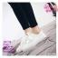 รองเท้าผ้าใบสไตล์เกาหลีสายริบบิ้น thumbnail 10