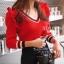 เสื้อผ้าแฟชั่นเกาหลีพร้อมส่ง เสื้อแขนยาวสไตล์เกาหลี thumbnail 7