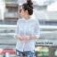 เสื้อผ้าเกาหลีพร้อมส่งเสื้อเชิ้ตลายตาราง thumbnail 6