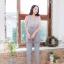 จั๊มสูทผ้าพื้นทรงสวยยยมากกก ขาเดฟนิดๆ thumbnail 7