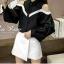 เสื้อผ้าเกาหลีพร้อมส่ง เสื้อเชิ้ตตคอปกลูกเล่นดีไซน์โชว์ไหล่ thumbnail 12