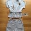 เสื้อผ้าเกาหลี พร้อมส่ง เซ็ตเสื้อและกางเกงผ้าคอตตอนสไตล์สมาร์ทมินิมัล thumbnail 17