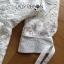 เสื้อผ้าเกาหลี พร้อมส่งเชิ้ตเดรสลูกไม้ตกแต่งคอตตอนสีขาวสไตล์ลำลอง thumbnail 11