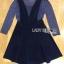เสื้อผ้าเกาหลีพร้อมส่ง เซทชุดเดรสมี3ชิ้นในเซท thumbnail 8