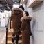 เสื้อผ้าแฟชั่นเกาหลีพร้อมส่ง โอเวอร์โค๊ท ผ้าวูลเนื้อแน่นซับใน thumbnail 8