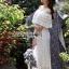 Molly Sweet Feminine Off-Shoulder White Lace Dress thumbnail 4