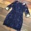 ชุดเดรสเกาหลี พร้อมส่งMini dress แขนยาวงานสวยงานปักและตัดเย็บเเน่นมากค่ะซับในเย็บติดผ้า thumbnail 16