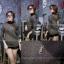 เสื้อผ้าเกาหลีพร้อมส่ง เสื้อผ้าวิ้งแขนยาวคอปีน thumbnail 3