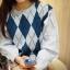 เสื้อผ้าเกาหลีพร้อมส่ง งานดีผ้าไม่คันใส่สบาย เหมือนจบจากไฮสคูลที่ บอสตันเลยจ้า thumbnail 3