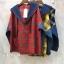 เสื้อผ้าเกาหลีพร้อมส่ง เสื้อแขนยาว ดีเทลช่วงตัวลายสก๊อต thumbnail 8