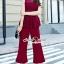 เสื้อผ้าเกาหลีพร้อมส่ง งานสวยหรูลุคสาวไฮคลาส ด้วยจั้มสูทกางเกงมีให้เลือก 3 สี thumbnail 1