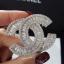 พร้อมส่ง Chanel Brooch เข็มกลัดชาแนลงานเพชร CZ แท้ thumbnail 5