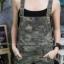 เสื้อผ้าแฟชั่นพร้อมส่ง เอี้ยมขายาวลายทหาร thumbnail 2