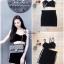 เสื้อผ้าเกาหลีพร้อมส่ง เสื้อสายเดี่ยว+กระโปรง thumbnail 9