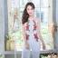 เสื้อผ้าแฟชั่นเกาหลีพร้อมส่ง จั๊มสูทขายาว thumbnail 15