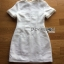 เสื้อผ้าเกาหลีพร้อมส่ง ค็อกเทลเดรสผ้าคอตตอนทวีตสีขาวตกแต่งมุก thumbnail 13