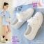 รองเท้าผ้าใบสไตล์เกาหลีสายริบบิ้น thumbnail 12