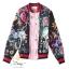 เสื้อผ้าเกาหลีพร้อมส่ง เสื้อแจ๊คเกทพิมพ์ลาย สีสวยสด thumbnail 2