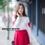 เสื้อผ้าเกาหลีพร้อมส่ง ขาวแดงงานดีก็มาคร้าาาาาา เหมือนเด็กญี่ปุ่นจริงงๆ thumbnail 2