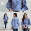 เสื้อผ้าเกาหลีพร้อมส่ง สาวกเชิ้ตห้ามพลาดค่าา กับเสื้อเชิ้ตลายริ้ว thumbnail 10