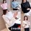 เสื้อผ้าเกาหลีพร้อมส่ง จั้มเอวช่วยพรางหุ่น แขนจีบเพิ่มดีกรีความแบ๊ว thumbnail 1