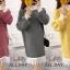เสื้อผ้าเกาหลีพร้อมส่ง เสื้อไหมพรม แบบสวมคอเต่า thumbnail 1