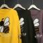 เสื้อผ้าเกาหลีพร้อมส่ง เวตเตอร์ไหมพรมแขนยาวทอลายผึ้งยอดฮิต thumbnail 10