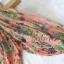 ชุดเดรสเกาหลี พร้อมส่ง maxidress ลุคสดใส เนื้อผ้าchiffonพิมพ์ลายคมชัด ดีเทลผ่าแขนเก๋มาก thumbnail 27