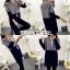 เสื้อผ้าเกาหลีพร้อมส่ง เสื้อคลุมยาวตัวแขนยาวสุดไฮ thumbnail 4
