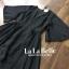 เสื้อผ้าแฟชั่นเกาหลีพร้อมส่ง จั้มสูทกางเกงขาสั้นคอวีแขนระบาย thumbnail 10