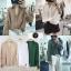 เสื้อผ้าเกาหลีพร้อมส่ง เสื้อเชิ้ต korea style ปลายแขนจั๊ม thumbnail 5