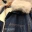 เสื้อผ้าเกาหลีพร้อมส่ง เสื้อโค้ทยีนส์ Topshopในช้อปราคาสะเทือนในมาก thumbnail 3