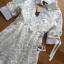 เสื้อผ้าเกาหลี พร้อมส่งเชิ้ตเดรสลูกไม้ตกแต่งคอตตอนสีขาวสไตล์ลำลอง thumbnail 9