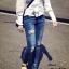 กางเกงยีนส์ ขายาว ทรงเดป ฟอกสวย thumbnail 1
