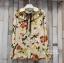 เสื้อผ้าเกาหลีพร้อมส่ง เสื้อเชิ้ตคอปกปริ้นลายดอก แบบ Gucci ดีไซน์เรียบหรู thumbnail 8
