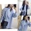 เสื้อผ้าเกาหลีพร้อมส่ง มินิเดรสจะแมท์กับขาสั้นหรือใส่เป็นเสื้อก็ได้ค่ะ thumbnail 2