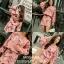 เสื้อผ้าแฟชั่นเกาหลีพร้อม่สง เสื้อปักมุกคู่กับกระโปรง พิมพ์ลายดอก thumbnail 4