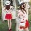 Blossom Cherry Strips Knit Cardigan thumbnail 7