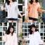 เสื้อผาเกาหลีพร้อมส่ง เสื้อเกาหลีงานกึ่งโบฮีเมียนนำเข้า thumbnail 9