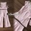 เสื้อผ้าเกาหลีพร้อมส่ง T-Shirt Lace Sweet Pastel Set thumbnail 8
