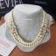 พร้อมส่ง Chanel Pearl Necklace สร้อยมุกเกรดพรีเมียม thumbnail 1