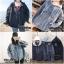 เสื้อผ้าเกาหลีพร้อมส่ง เสื้อ jacket jeans แต่งฮู๊ดด สกรีนลายด้านหลัง thumbnail 15