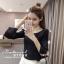 เสื้อผ้าเกาหลีพร้อมส่ง ตัวนี้ผ้าดีมากเลยค่ะ ยืดได้เยอะเลยค่ะ thumbnail 2