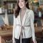 เสื้อผ้าแฟชั่นพร้อมส่ง งานดีไซน์แนวเกาหลี ใช้ผ้าไหมพรม thumbnail 8