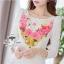 ( พร้อมส่งเสื้อผ้าเกาหลี) เดรสลุคหรูหรา เนื้อผ้ามี textureเป็นคลื่นลอนในตัวนะคะ ดีเทลพิมพ์ลายลวดลายชัด สีสดสวย เก็บทรงเข้ารูปเน้นซิลลูเอทเว้าโค้งสวย ไหล่เย็บยกตั้งขึ้นเล็กน้อยนะคะเสริมบุคลิก เนื้อผ้ามีน้ำหนัก thumbnail 3