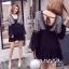 minidress สไตส์โบฮีเมี่ยน คอวีหน้าแบะหลัง thumbnail 1