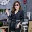 เสื้อผ้าแฟชั่นเกาหลีพร้อมส่ง เสื้อโค้ชแจคเก็ตแขนยาว ดีสวยมาก thumbnail 5